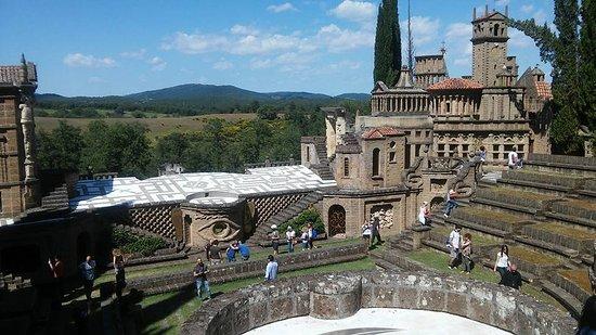 """Montegabbione, Italie: La Scarzuola, la """"città ideale"""""""
