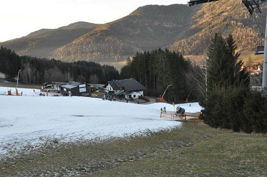Spital am Semmering, ออสเตรีย: Ein bisschen Schnee reicht aus