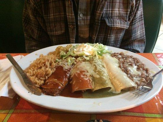 Jalapeno Fresh Grill: Enchiladas