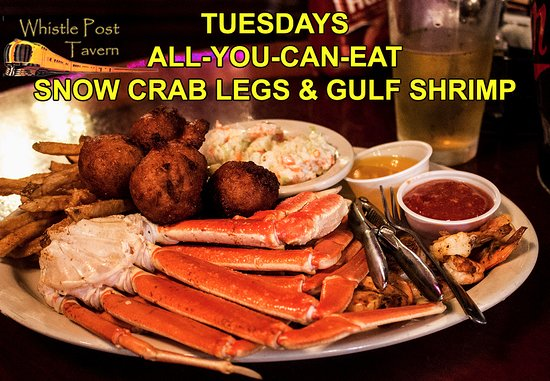 Tuesdays - All You Can Eat Snow Crab Legs - Picture of