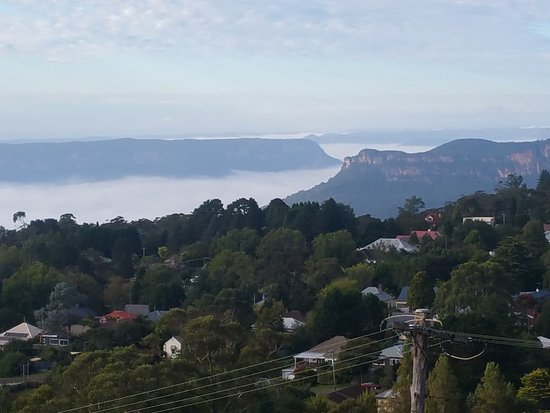 Hotel Mountain Heritage - Blue Mountains : Morning view