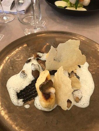 La Ferriere Aux Etangs, Frankrike: Boudin foie gras