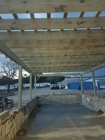 Shell Knob, MO: New pergola going up so guest can enjoy the patio with cooling shade