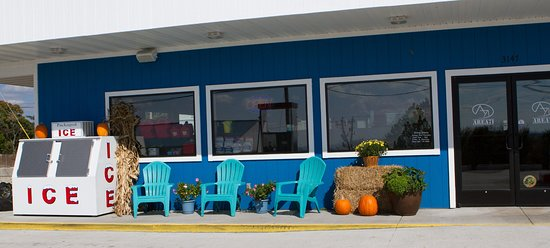 Shell Knob, MO: Area71 - decked out for the fall season
