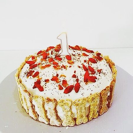 Stupendous Doggy Birthday Cake Picture Of Kibble Bakery Skipton Tripadvisor Funny Birthday Cards Online Elaedamsfinfo