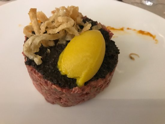 Solana Restaurante: steak tartar