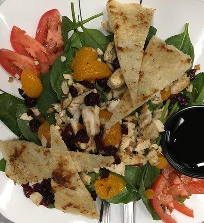 Fryeburg, Μέιν: Mandarin Chicken Salad
