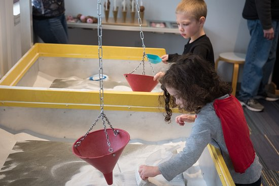 Acton, MA: Sand Pendulums in the Yes, It's Math! gallery
