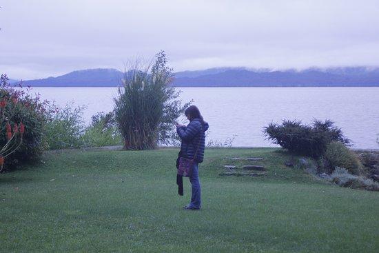 Hotel Patagonia: Jardín del hotel
