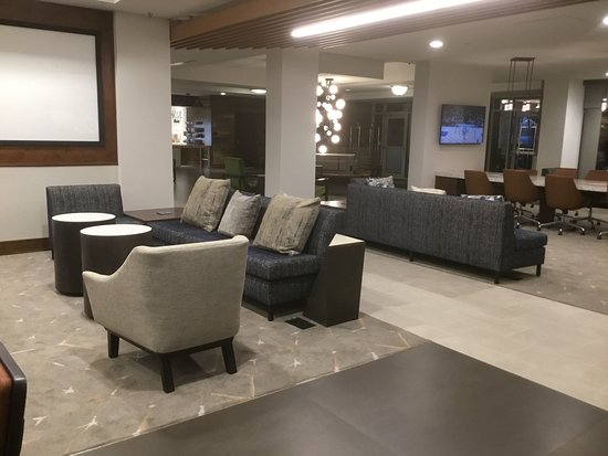 Lobby completely remodeled since last visit