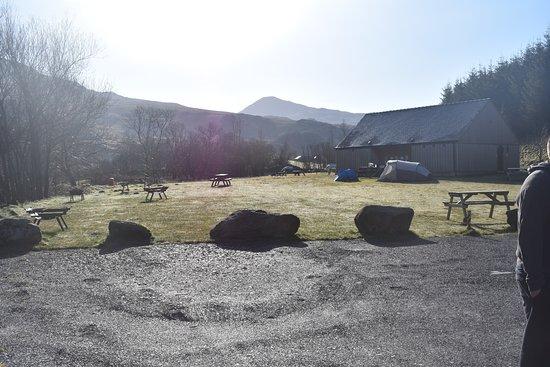 Rhyd Ddu, UK: Campsite