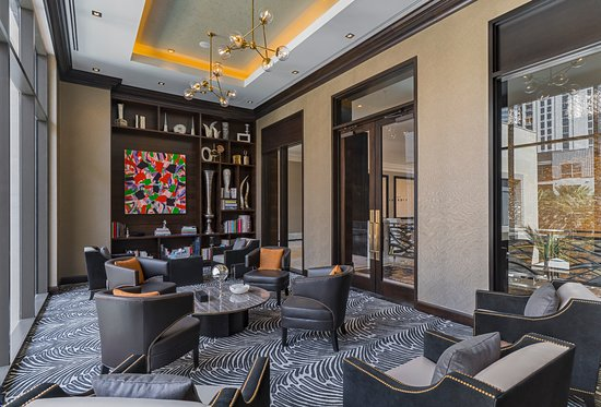 Curated Art Book Library Picture Of The Post Oak Hotel At Uptown
