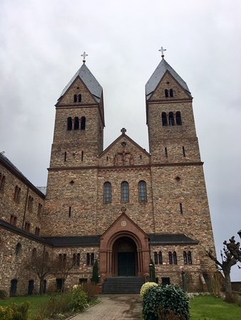Exterior Cathedral of Benedictine Abbey of St. Hildegard