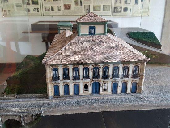 Casa dos Contos: Miniatura da casa