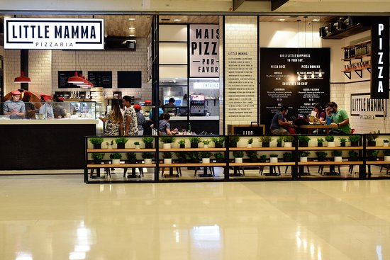 Little Mamma Pizzaria - Shopping Nova América: (Victor Vasconcelos)