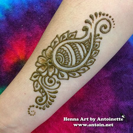 Fun And Bold Henna Designs Picture Of Magic Magpie Studio Seattle