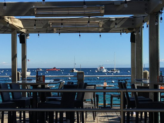 Bluewater Avalon Seafood Restaurant : What a view!