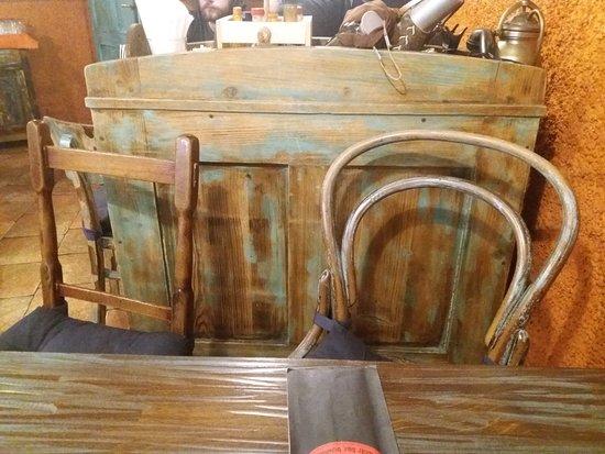 Frydlant nad Ostravici, Tsjechië: oddělené stoly