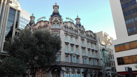 Albacete, إسبانيا: Edificio del Gran Hotel. Muy bonito.