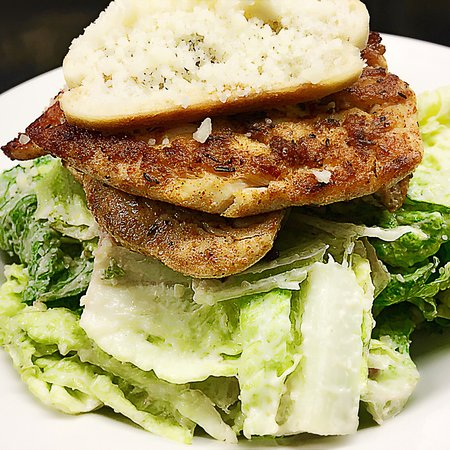 Best Chicken Caesar Salad In Town Just The Best And The Chicken Is Always Fresh Picture Of Kafka Cafe Bar Dublin Tripadvisor
