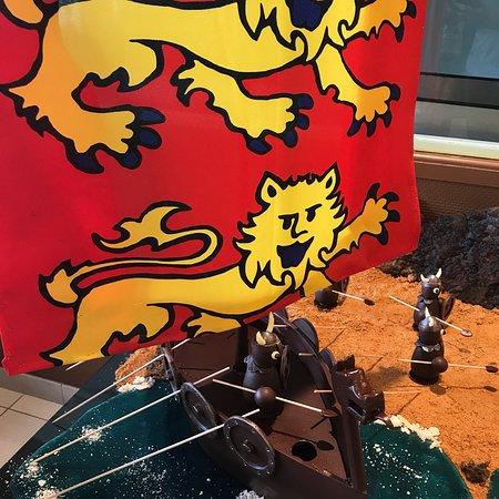 Nonant, France: Hotot Chocolaterie du Drakkar