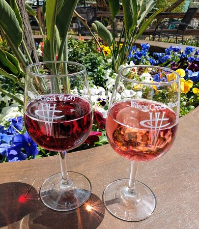 Wilson Creek Winery : sangria and rose'