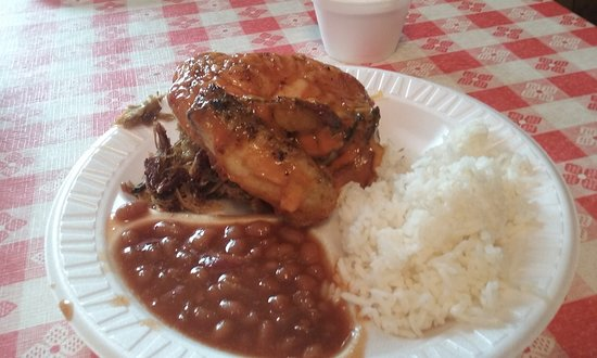 Holly Hill, SC: Chicken with rice