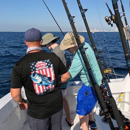 Cutting Edge Fishing Charters: Great day. Thanks Ryan & Q