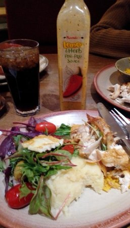 big appetite at Nando's Mahon Point, Cork.