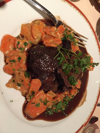 beef cheeks braised - Picture of La Maison du Jardin, Paris ...