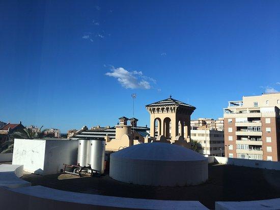 NH Ciudad de Almeria: Vista desde la habitación