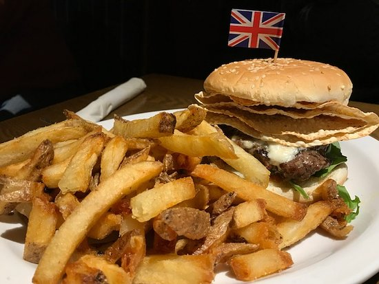 Cole Harbour, Canada: Burger Week British Bulldog Tikka Masala Burger