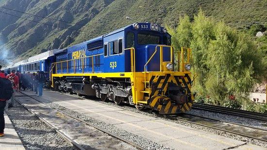 PeruRail - Estacion de Ollantaytambo