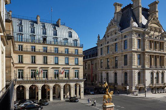 Hotel Regina Louvre Paris France