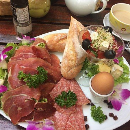 Nice German style breakfast