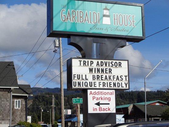 Street Sign, Garibaldi House