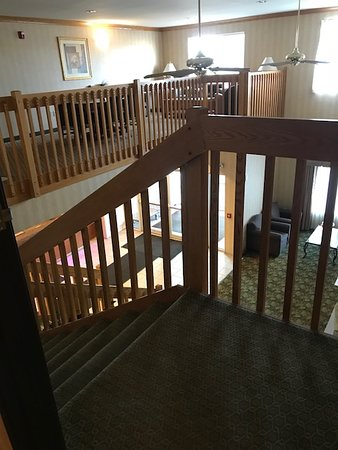 Quality Inn & Suites: The two-story lobby gives the hotel a focal point that not all hotels in this class may have.