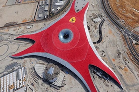 Abu Dhabi Ferrari World Ticket with...