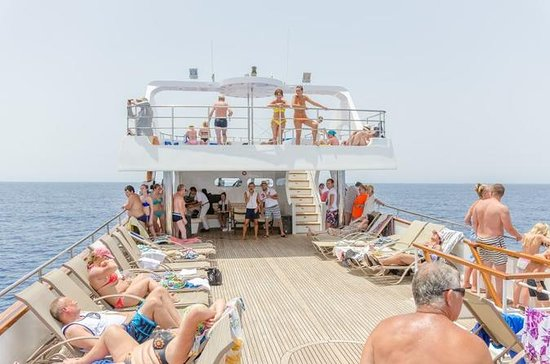 Paphos Sightseeing Half-Day Cruise