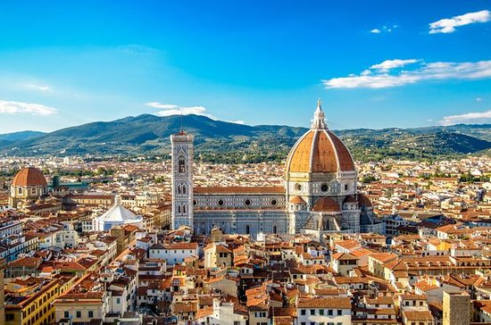 FLORENCE WALKING WITH CHIANTI APERITIF FROM ROME BY HIGH SPEED TRAIN