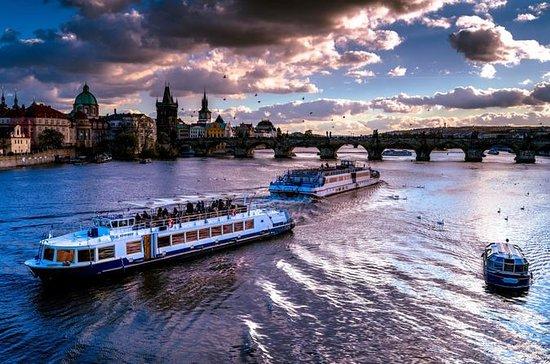 Cruzeiro de 1 hora de barcos de Praga