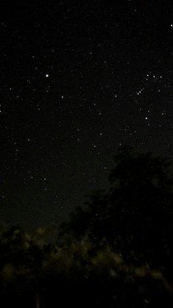 El Sol Verde Lodge & Campground: Cielo de marzo