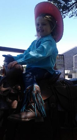 Long Beach, WA: Pretty in Blue Cowgirl