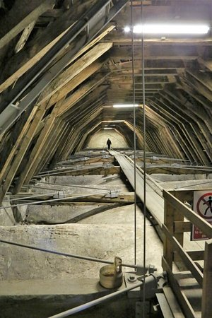 Beverley Minster : The Roof Space is full of construction history!