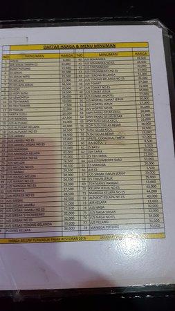 Daftar Harga Makanan Tidak Murah Dan Tidak Mahal Photo De Rumah