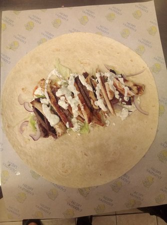 Kilkelly, İrlanda: MIxed kebab