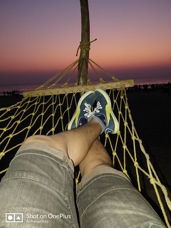 Kashid Beach : Evening time from sea side shack