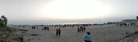 Kashid, India: panaromic view