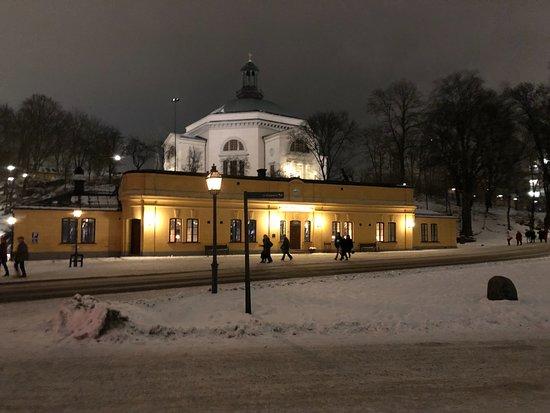 Skeppsholmen at night