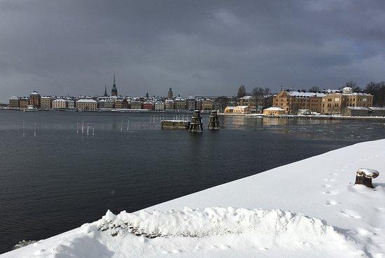 Skeppsholmen: View towards Gamla stan